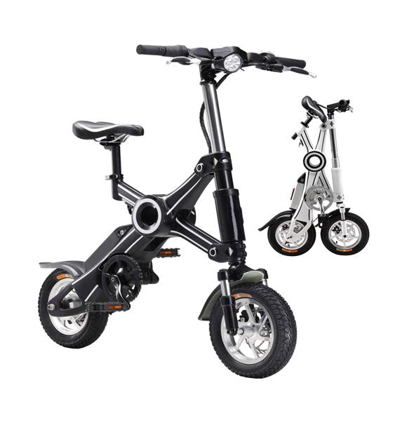 Nama Bike - Scooter elettrico pieghevole con pedalata assistita